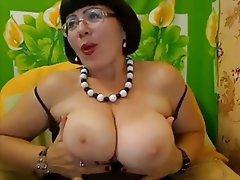 Amateur Big Boobs Mature MILF Webcam