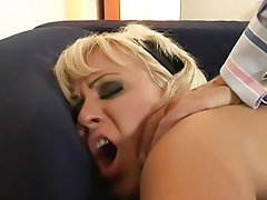 Blonde Hardcore Old and Young Stockings