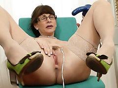Homemade MILF Stockings Mature