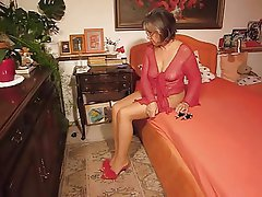 Foot Fetish German Granny Mature MILF