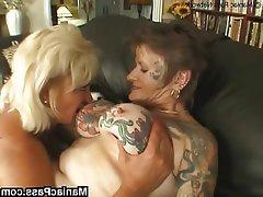 Big Boobs Granny Lesbian Mature Tattoo