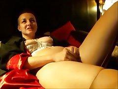 Masturbation MILF Orgasm Stockings