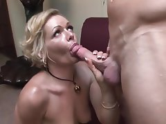 Blonde Blowjob Mature MILF