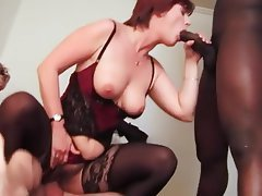 Anal Group Sex Interracial Mature Stockings