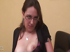 Amateur Anal Brunette French Anal