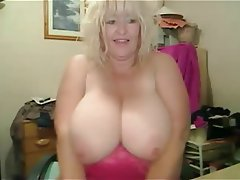 Amateur BBW Big Boobs Blonde Mature