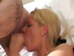 Cumshot Amateur Anal Blonde Threesome