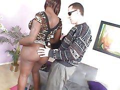 BBW Big Boobs Creampie Interracial