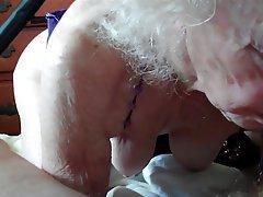 Amateur Blowjob Granny Lingerie Mature