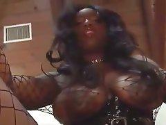 Big Boobs Latex MILF Pornstar