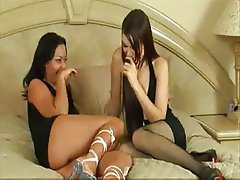 Ass Licking Lesbian Old and Young