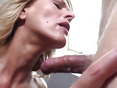 Blonde Facial Mature Old and Young