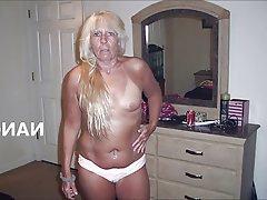 Lingerie MILF Mature Blonde