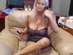 Big Boobs Blonde Mature Webcam