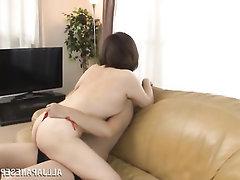 Asian Babe Blowjob Cumshot Hairy
