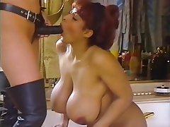 Big Boobs Hairy Lesbian MILF Strapon