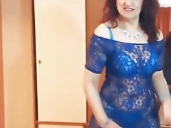 Lingerie Mature MILF Stockings Webcam